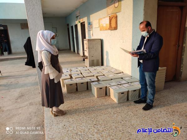 الفهود: توزيع عشرات السلات الغذائية على تلاميذ مبرة التضامن التاسعة للأيتام
