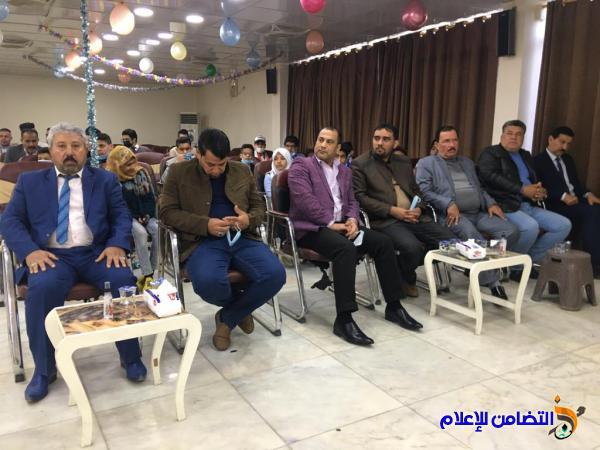مدرسة التضامن للأيتام في الناصرية تشارك في مهرجان الابداع والتميز