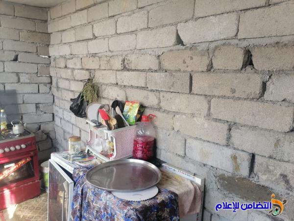 مبرة التضامن الرابعة في سوق الشيوخ تبادر إلى ترميم منزل احد تلاميذها الأيتام