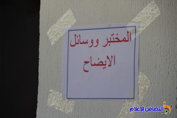 مدرسة التضامن السادسة للأيتام في الشطرة تفتتح الطابق الثاني لبنايتها