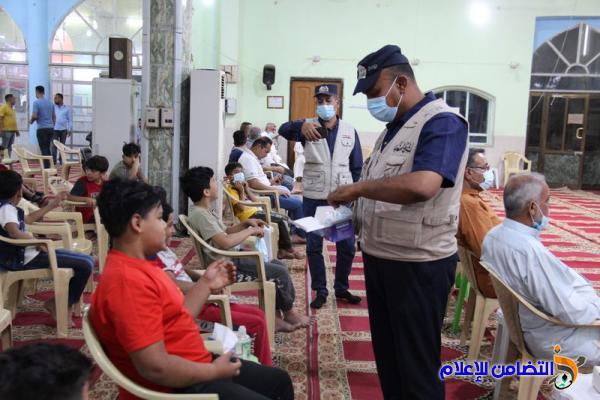 انطلاق البرنامج الرمضاني السنوي في جامع الشيخ عباس الكبير -تقرير مصور-