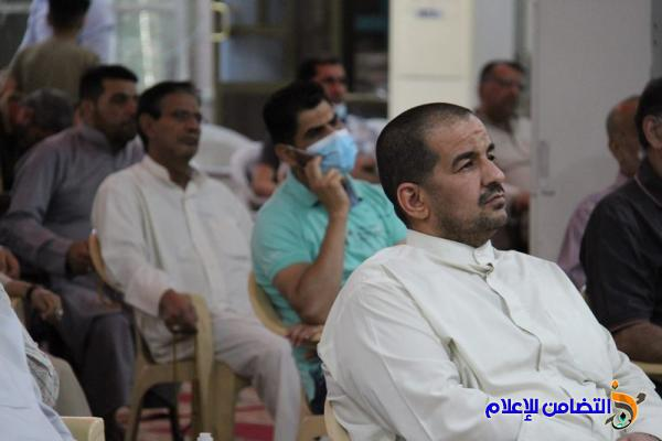 تقرير مصور عن اليوم الثالث من البرنامج الرمضاني في جامع الشيخ عباس الكبير
