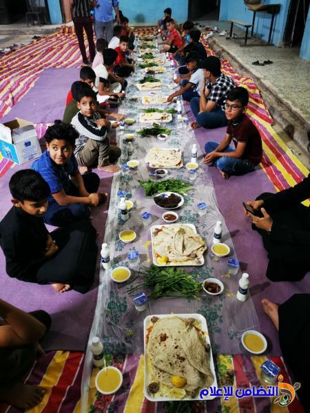 بمناسبة ذكرى ولادة الامام المجتبى(ع)...مبرة التضامن الثانية تقيم مأدبة إفطار للايتام في قضاء النصـر