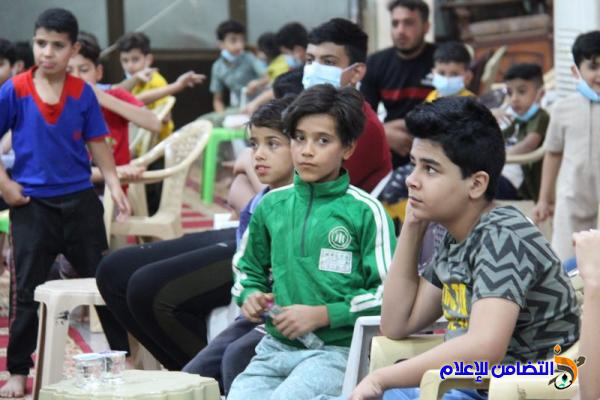 بالصور: اليوم السادس عشر من البرنامج الرمضاني في جامع الشيخ عباس الكبير