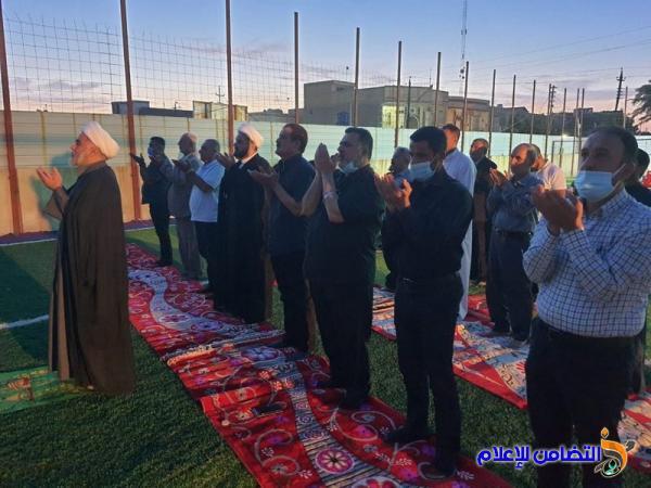 مبرات التضامن للأيتام في الناصرية  تقيم مجلساً تأبينياً ووجبة إفطار للأيتام بذكرى شهادة أمير المؤمنين