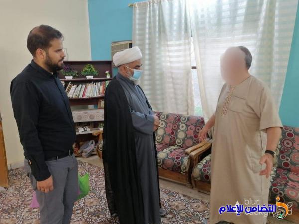 وفد من جمعية التضامن الإسلامي يجري زيارة تفقدية إلى دار رعاية المسنين في الناصرية