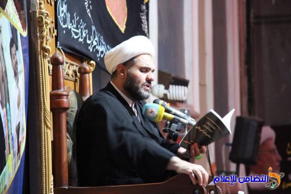 بالصور.. إحياء ليلة الــ21 من رمضان وذكرى استشهاد أمير المؤمنين(ع) في جامع الشيخ عباس الكبير