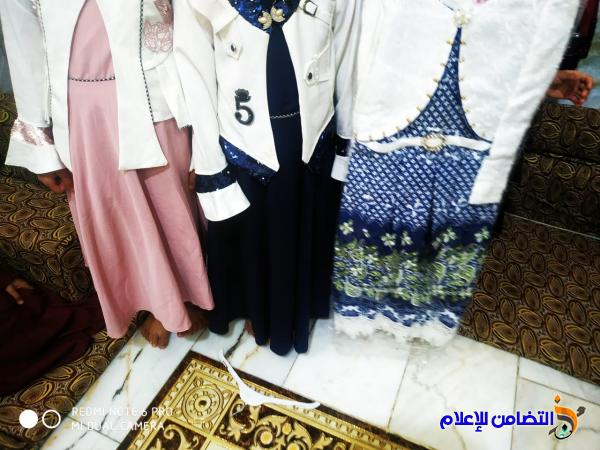 في قضاء الاصلاح ... توزيع  كسوة العيد  و مأدبة إفطار جماعي  لتلاميذ مبرة التضامن الثامنـة