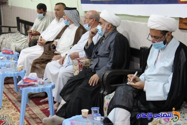 بالصور.. اليوم الــ24 من البرنامج الرمضاني في جامع الشيخ عباس الكبير