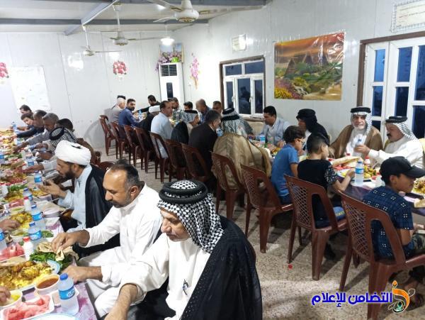 مكتب مبرات التضامن للأيتام يقيم أمسيــة رمضانية بمبرة التضامن الثالثة في قضاء الجبايش