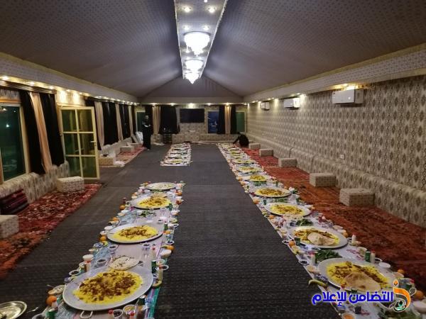 مأدبة إفطار جماعي وكسـوة عيد الفطر المبارك لايتام مبرات التضامن في قضاء الاصلاح والفهود وسوق الشيوخ والفضلية