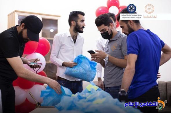 توزيع كسوة العيد على الأيتام بمبرة التضامن الأولى في الناصرية