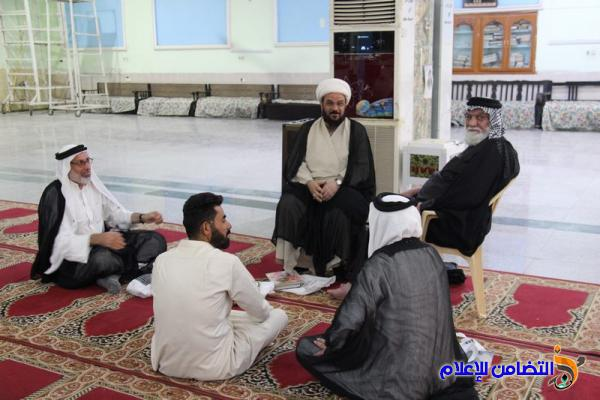 بالصور.. مدرسة العلوم الدينية في الناصرية تستأنف دوامها