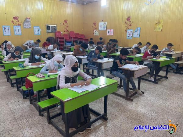 وسط إجراءات وقائية وتوفير الأجواء المناسبة ... مدارس التضامن للأيتام  تواصل أداء الامتحانات لتلاميذ السادس الأيتدائي