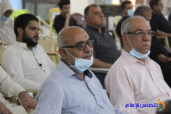 بالصور.. إقامة حفل تأبيني في ذكرى أربعينية الحاج باقر الطائي في جامع الشيخ عباس الكبير