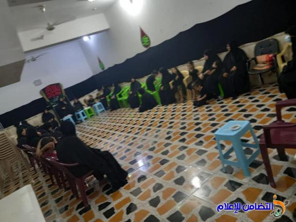 بالصور.. اليوم الرابع من مجلس العزاء الحسيني في الحسينية الزينبية النسوية