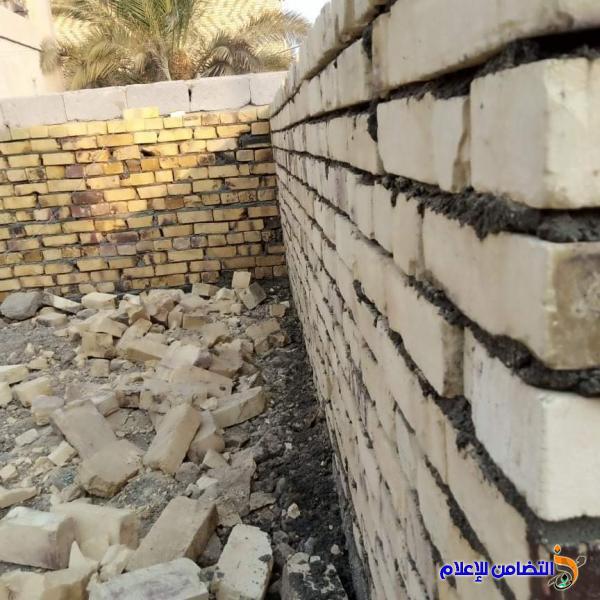 مبرة التضامن الثامنة تباشر في بناء بيت سكني لإحدى عوائل الايتام في قضاء الإصلاح