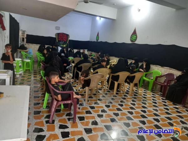 الحسينية الزينبية في الناصرية تختتم مجلسها العزائي بمناسبة محرم الحرام