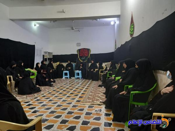 الحسينية الزينبية النسوية تقيم مجلس عزاء بذكرى شهادة الإمام المجتبى (عليه السلام)