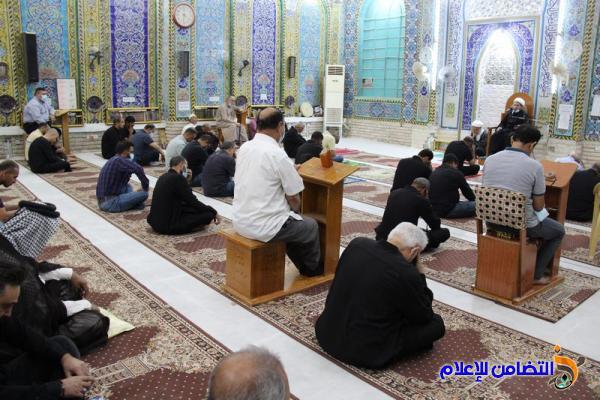 بالصور. مسجد وحسينية أهل البيت في الناصرية يقيم مجلس عزاء بذكرى وفاة النبي الأعظم (ص)