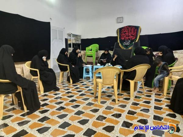 الحسينية الزينبية في الناصرية تقيم مجلس عزاء لاستذكار وإحياء وفاة الرسول الأكرم(ص)