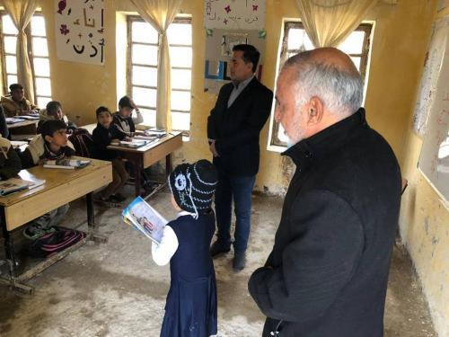 المدير التنفيذي لمبرات التضامن للأيتام يجري جولة تفقدية إلى مبرتي النصر والرفاعي