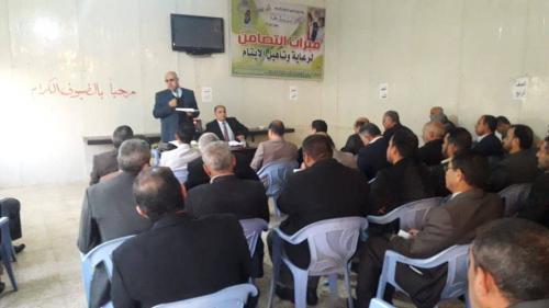 مبرة التضامن الثانية للأيتام في النصر تحتضن ندوة حوارية حول امتحانات نصف السنة