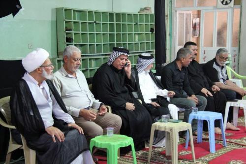 ذي قار: جمعية التضامن الاسلامي تقيم مجلس فاتحة على اروح ضحايا ركضة طويريج (تقرير مصور)