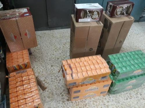 مدير دائرة البطاقة الوطنية في الطار يتبرع بكمية من العصائروالكيك لتلاميذ التضامن الرابعة للأيتام