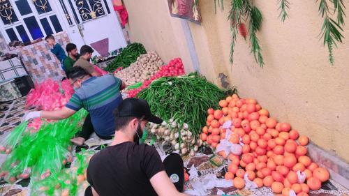 بالتعاون مع الجمعيات الخيرية في قضاء النصر.. التضامن الثانية تواصل توزيع السلات الغذائية على العوائل المتعففة