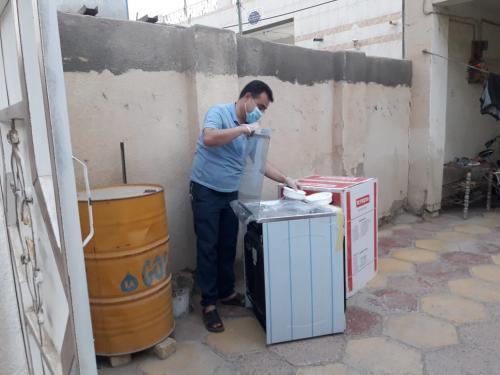 التضامن الثانية في النصر تجهز عدد من عوائل الأيتام بأجهزة كهربائية ومنزلية