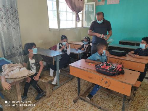 مبرة التضامن العاشرة تفتتح دورة لإكمال المناهج الدراسية لتلاميذ الناجحين من الصف الأول الى الثاني