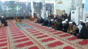 بالصور: مدرسة العلوم الدينية في الناصرية تقيم مجلس عزاء بذكرى وفاة أم البنين -عليها السلام-