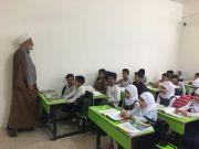 المشرف العام لمبرات التضامن ..يـزور مبرة التضامن الأولى للأيتام في الناصرية ويحث على رفع المستوى العلمي للتلامـيذ