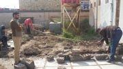 بالصور: مبرة التضامن العاشرة للأيتام تباشر ببناء ملحق لأدارتها