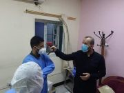 جمعية التضامن الاسلامي في الناصرية  تقـدم مجموعة من المستلزمات والاجهزة الطبية لدعم خلية الحشد الشعبي في سيطرات المحافظة