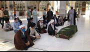 دفن جثمان الفقيد الدكتور محمد علي الناصري في النجف الاشرف