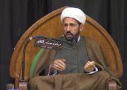 الخطيب الشيخ عبد العظيم الكندي يعزي برحيل آية الله الشيخ الناصري