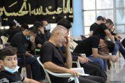 إحياء ذكرى يوم العاشر من محرم في مسجد الشيخ عباس الكبير وسط الناصرية
