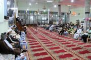 اليوم الرابع من البرنامج الرمضاني في جامع الشيخ عباس الكبير – تقرير مصور-