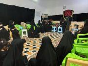 الحسينية الزينبية في الناصرية تقيم مجلس عزاء بذكرى استشهاد السيدة رقية بنت الإمام الحسين (ع)