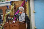 الشيخ محمد مهدي الناصري يحث المواطنين على المشاركة الفاعلة في الانتخابات واختيار النزيه الصالح لخدمة شعبه