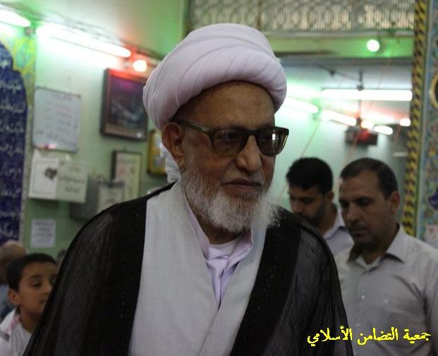 اية الله الشيخ الناصري يحث الشعب العراقي على المشاركة الفاعلة في الانتخابات