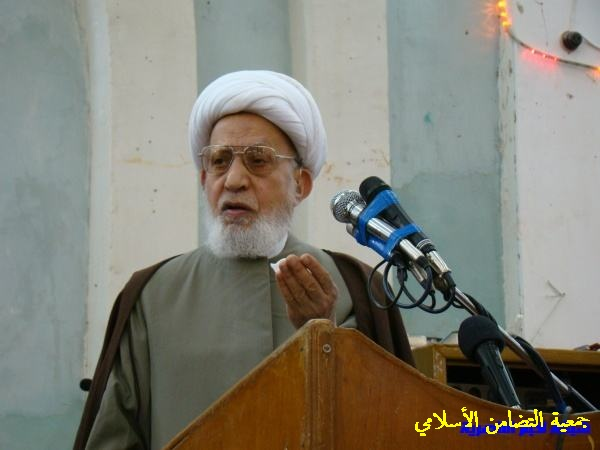 بيان سماحة اية الله الشيخ الناصري بخصوص احداث سامراء والانبار